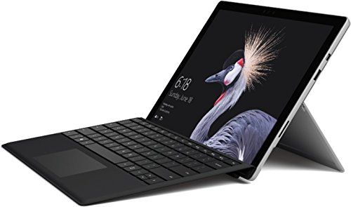 Microsoft Surface Pro 31,24 cm (12,3 Zoll) 2-in-1 Tablet (Intel Core i5, 4 GB RAM, 128 GB SSD, Windows 10 Pro) Silber